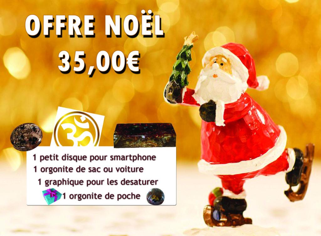 Offre Noël Orgonites Ondorama