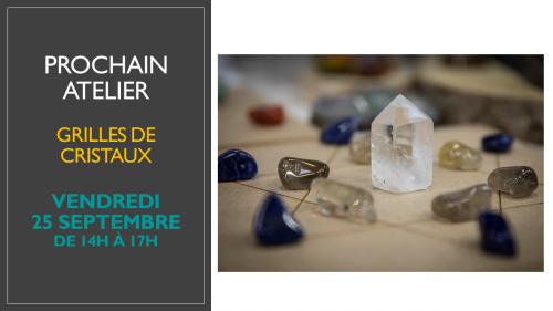 Atelier mandala de cristaux Ondorama Bien Etre