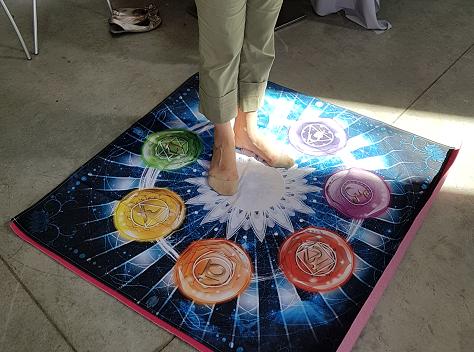 Ondorama tapis chakras