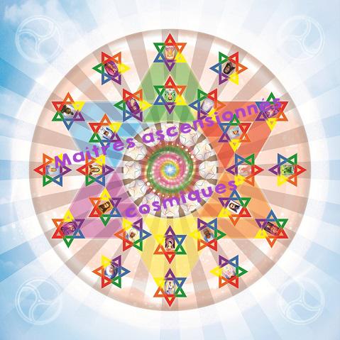 Ondes de forme tapis meditation maitres ascensionnes cosmiques