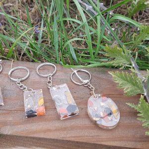 orgonites porte-clefs spécial pierres de protection