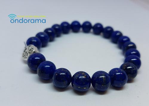 bracelet en lapis lazuli ondorama bien etre gironde
