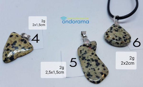 jaspe dalmatien ondorama bien etre pendentifs