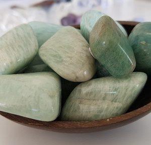 amazonite pierre roulée ondorama bien etre