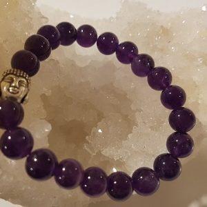 Améthyste en bracelet Ondorama Bien-être