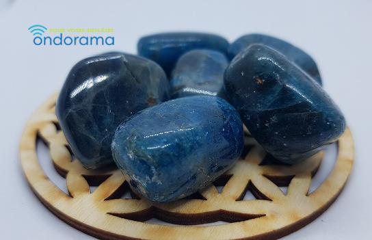 apatite bleue pierre roulée 2-3cm ondorama bien etre