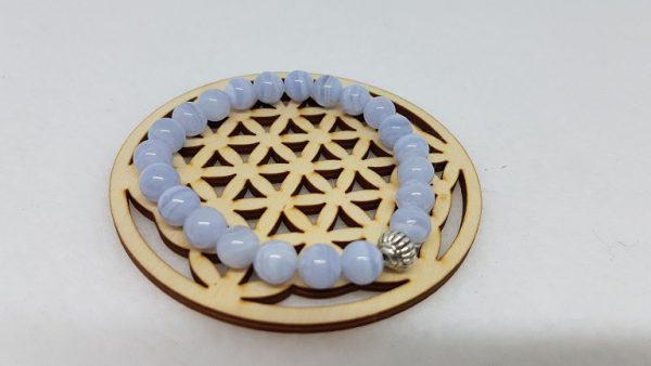 calcedoine bleue bracelet ondorama bien etre