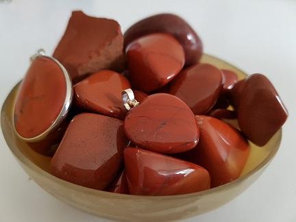 jaspe rouge pierre roulee ondorama bien etre