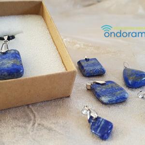 pendentif lapis lazuli ondorama bien être gironde