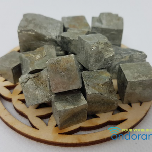 Pyrite cube Espagne Ondorama Bien être