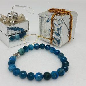 apatite bleue bracelet ondorama bien etre