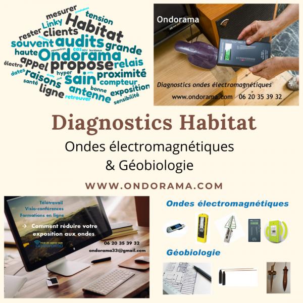diagnostics ondes electromagnetiques ondorama