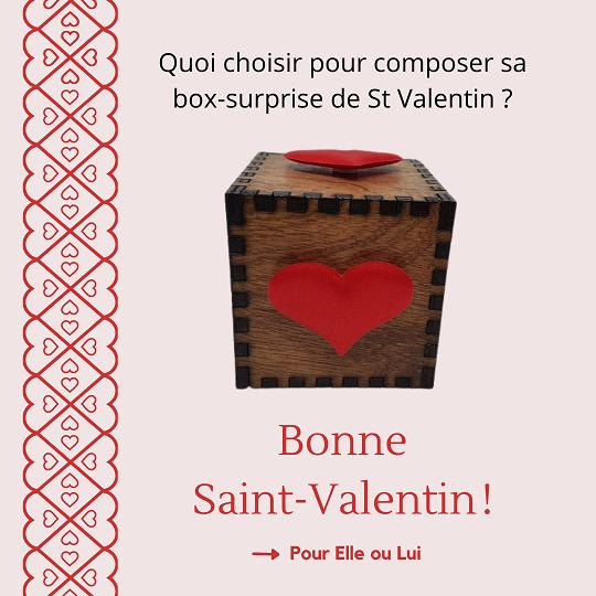Box St Valentin 2021 Ondorama Bien être