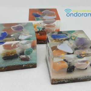 orgonites cubes Ondorama bien-être