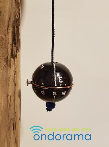 pendule equatorial ebene 4cm - ondorama bien être
