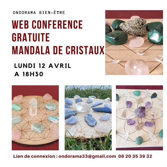 atelier grilles de cristaux 16 avril ondorama bien etre