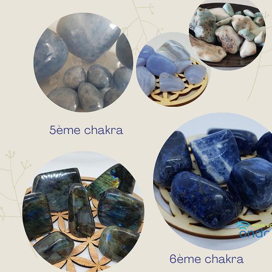 pierres 7 chakras ondorama bien être