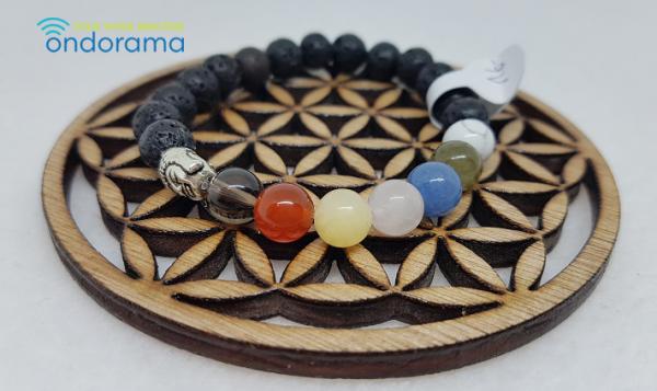 7 chakras bracelets Ondorama Bien Être