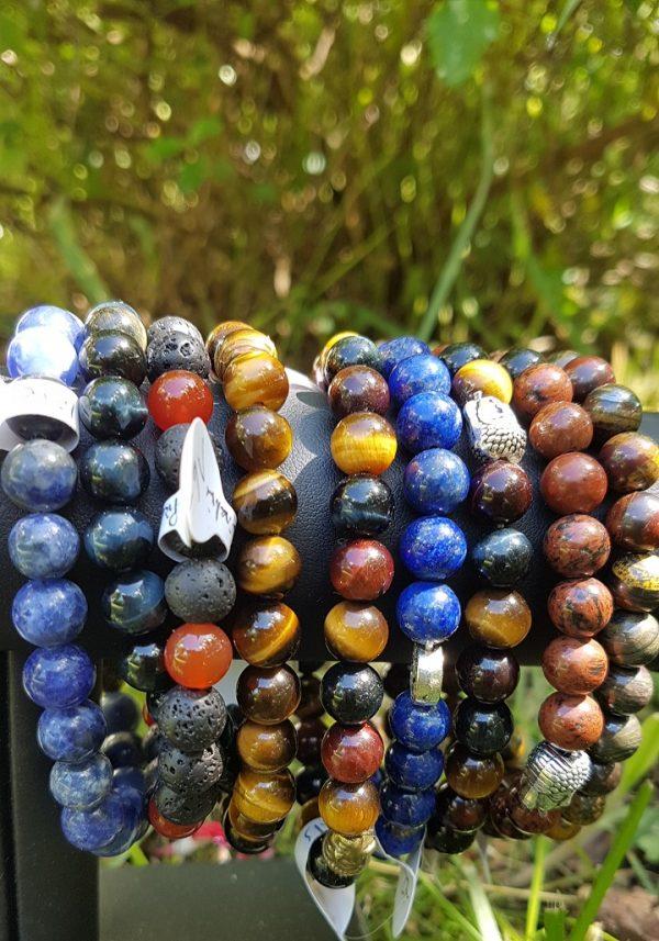 bracelets pierres naturelles hommes ondorama bien être