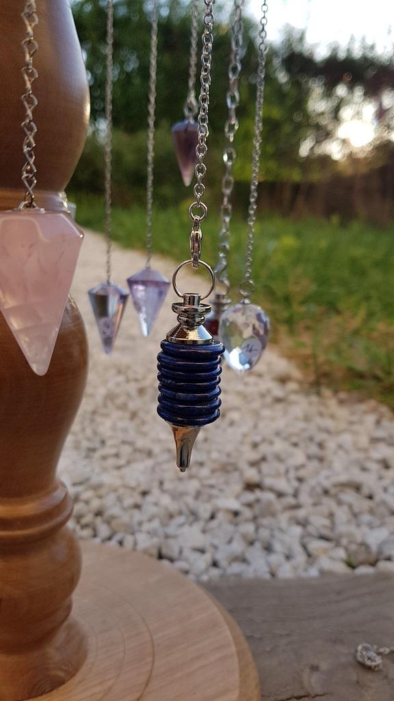 pendule lapis lazuli Ondorama Bien Être
