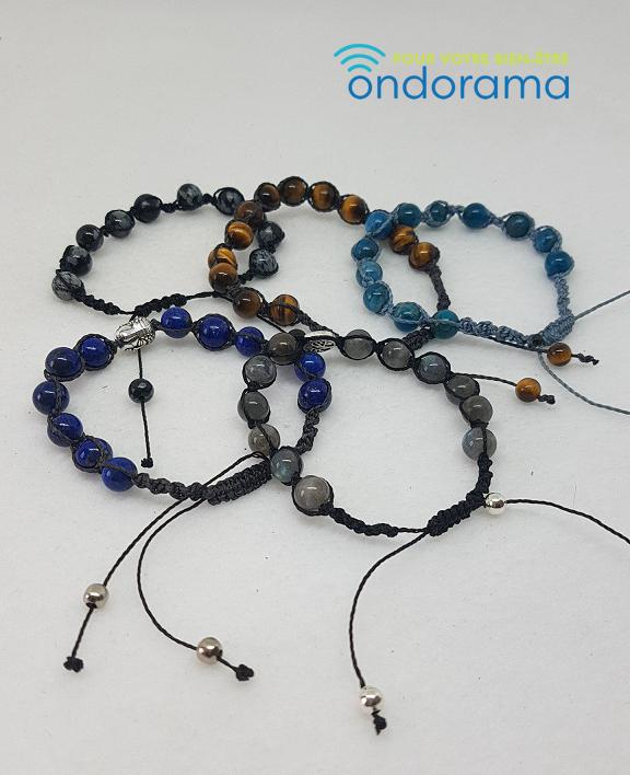 Bracelets en macramé Ondorama Bien Être