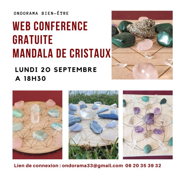 web conference gratuite Grilles de cristaux ondorama Bien être