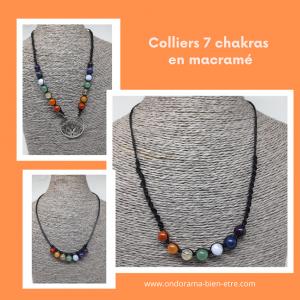 colliers macramé et perles ondorama bien etre