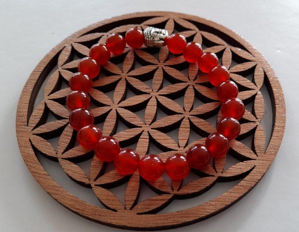 Cornaline rouge bracelets Ondorama Bien Être